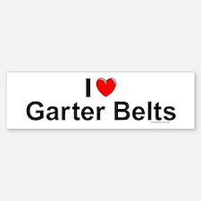 Garter Belts Bumper Bumper Sticker