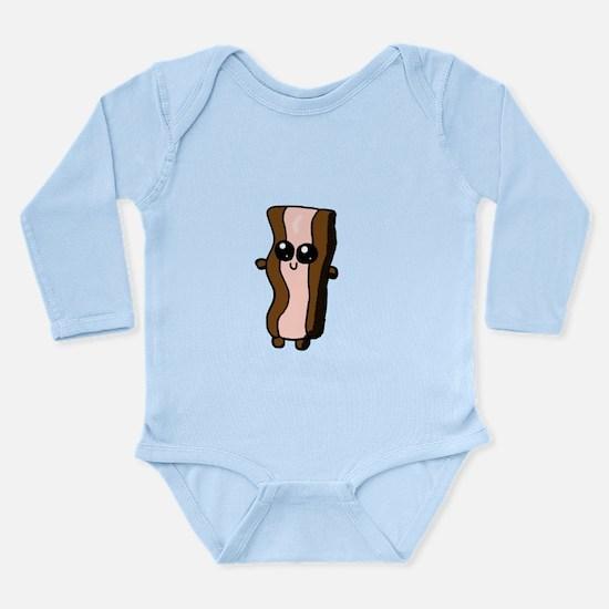 Chibi Bacon Strip Body Suit