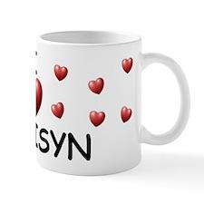 I Love Madisyn - Mug