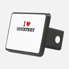I Love COURTNEY Hitch Cover