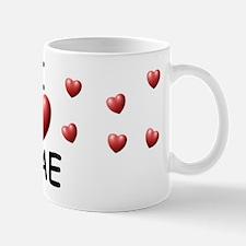 I Love Mae - Mug