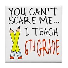 6th Grade Teacher Tile Coaster