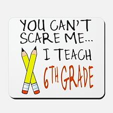 6th Grade Teacher Mousepad