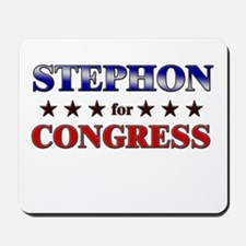 STEPHON for congress Mousepad
