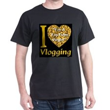 I Love Vlogging - I'm A YouTu T-Shirt