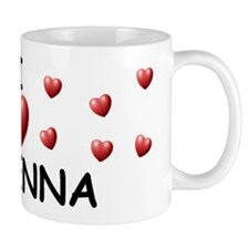 I Love Makenna - Small Mugs