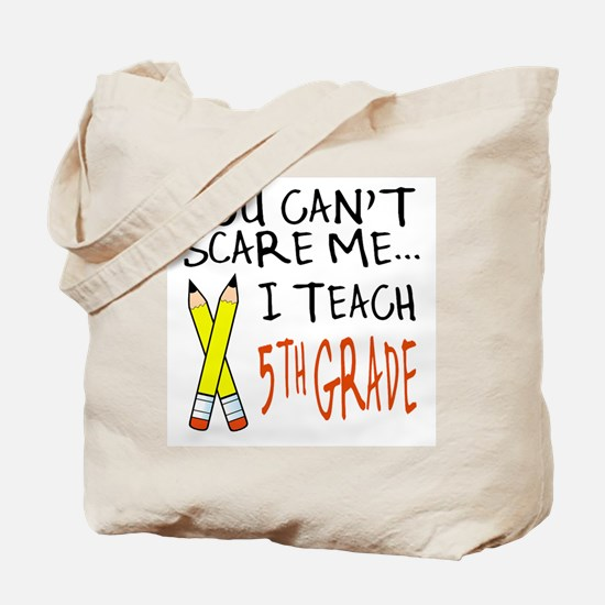 5th Grade Teacher Tote Bag