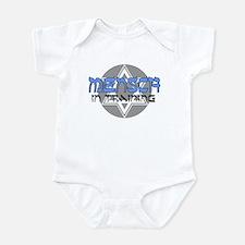 JEWISH BRIS GIFT MENSCH IN TR Infant Bodysuit
