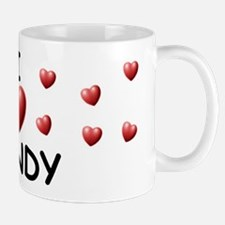 I Love Mandy - Mug
