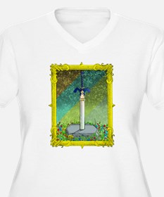 Master Sword Plus Size T-Shirt