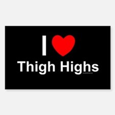 Thigh Highs Decal