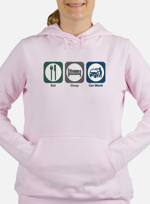 Eat Sleep Car Wash Sweatshirt