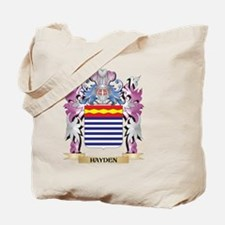 Hayden Coat of Arms (Family Crest) Tote Bag