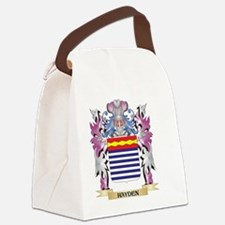 Hayden Coat of Arms (Family Crest Canvas Lunch Bag