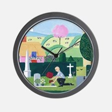 Magpies 'One for Sorrow' Wall Clock