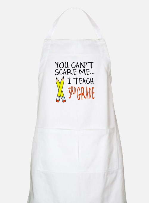 3rd Grade Teacher BBQ Apron