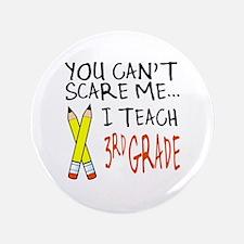"""3rd Grade Teacher 3.5"""" Button (100 pack)"""