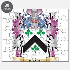 Hazel Coat of Arms (Family Crest) Puzzle