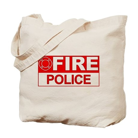 Fire Police Tote Bag