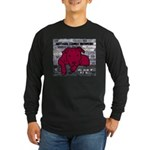 Me & My Pit Bull Long Sleeve Dark T-Shirt