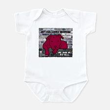 Me & My Pit Bull Infant Bodysuit