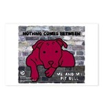 Me & My Pit Bull Postcards (Package of 8)