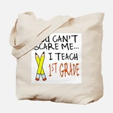 1st Grade Teacher Tote Bag