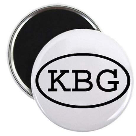 KBG Oval Magnet