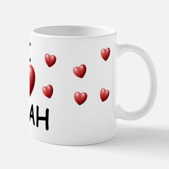 I Love Miah - Mug