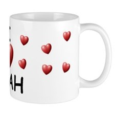 I Love Miah - Small Mug