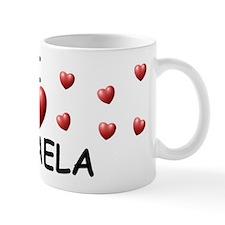 I Love Mikaela - Small Mug