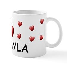I Love Mikayla - Mug