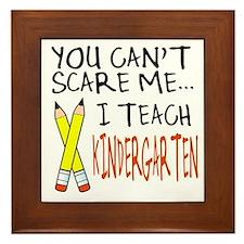 Kindergarten Teacher Framed Tile