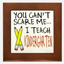 Kindergarten Teacher Framed Tile