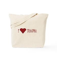 I (Heart) Trauma I Tote Bag