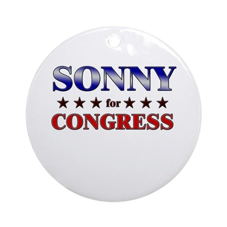 SONNY for congress Ornament (Round)