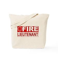 Fire Lieutenant Tote Bag