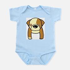 Bulldog Puppy Infant Bodysuit