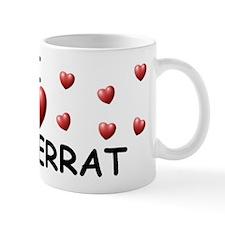 I Love Monserrat - Mug