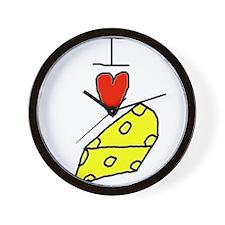 Cute Cheese Wall Clock