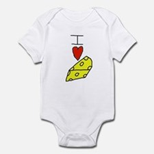 Unique Cheese Infant Bodysuit