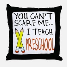 Preschool Teacher Throw Pillow