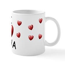 I Love Mya - Mug