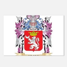 Hegan Coat of Arms (Famil Postcards (Package of 8)