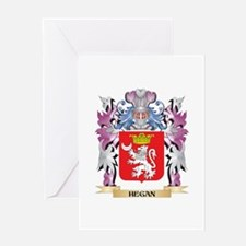 Hegan Coat of Arms (Family Crest) Greeting Cards