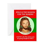 Season Hell Greeting Card