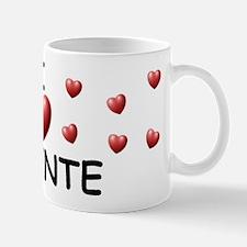 I Love Vicente - Mug