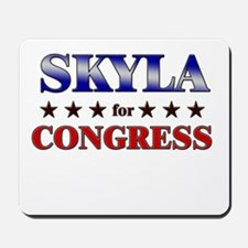 SKYLA for congress Mousepad