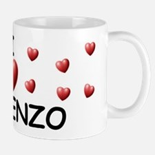 I Love Vincenzo - Small Small Mug