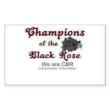 CBR-CoH Rectangle Decal